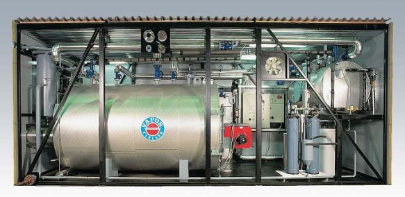 газовые блочные котельные водогрейные цена